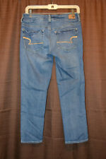American Eagle Outfitters Women's Size 6 Artist Crop Super Stretch Jeans