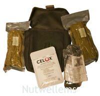 Trauma First Aid Kit, Molle Webbing, Black, Essential Trauma Components