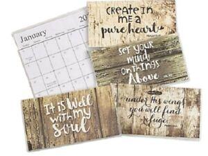 2022-2023 Rustic Faith 2 Year Planner Pocket Calendar *FREE SHIPPING*