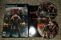 God of War ll 2 Sony PlayStation 2 PS2 Game Black Label, Tested & Working