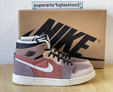 Nike Air Jordan 1 Zoom Air CMFT Canyon Rust Sneakers Size UK 7