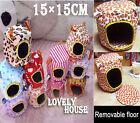 Hammock for Ferret Rabbit Rat Hamster Parrot Squirrel Hanging Bed Toy House - M