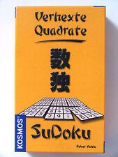 SUDOKU - Variante : Verhexte Quadrate - Kosmos Mini Spiel - Geschenk Reisespiel