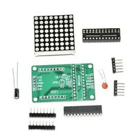 5pcs MAX7219 Dot Matrix Module MCU Control Display Module DIY Kit for Arduino