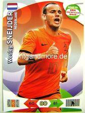 Adrenalyn XL - Wesley Sneijder - Niederlande - Road to 2014 FIFA World Cup