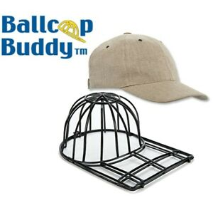 Ball Cap Buddy SPECIAL BLACK Ballcap Cleaner Hat Flat Curved Fitted Washer Safe