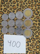 Mexico Uncirculated Coin Lot- 12 Mixed Coins- 2010-2018- Some Bimetal
