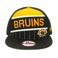 New Era Boston Bruins 6x Time Stanley Cup Trophy Champions 950 Snapback Cap Hat