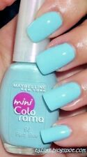 GEMEY MAYBELLINE Vernis à Ongles COLORAMA  96 PARTY BLUE NEUF BLISTER
