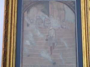 SMITH-NOVAK ANTIQUE DRAWING SPIRITUAL GUATEMALA MAYAN INDIANS WORSHIP ST THOMAS