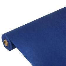 4 dunkelblaue Tischdecken stoffähnlich Vlies soft selection 25m x 1,18 m Papstar