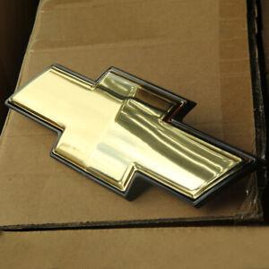 OEM Front Grille Emblem Bowtie Badge For Chevrolet Avalanche Tahoe Suburban
