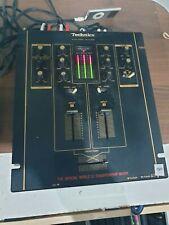E1652 Vintage 90's TECHNICS SH-DJ1200 DMC Championship DJ Mixer fully working