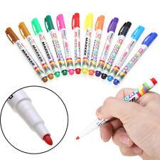 12 Colorful Fine Nib Pen Whiteboard Markers White Board Marker Children's Set
