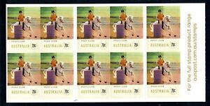 2014 Equestrian Events (Pony Club) Stamp Booklet SB476 (Philatelic Barcode)