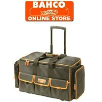 """BAHCO 24"""" WHEELED HAND & POWER TOOL HOLDALL STORAGE CASE CLOSED BAG, 4750FB2W24A"""