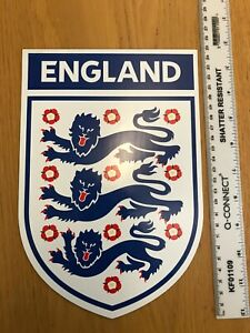 Large England Football Fridge magnet 3 Lions approx 25cms