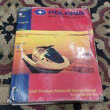 Polaris 2002 Personal Watercraft Service Manual P/N 9917370