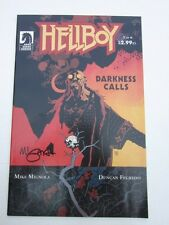 Hellboy Darkness Calls 2 4 5 Signed Mike Mignola VF/NM Condition