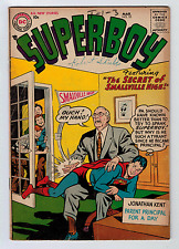Superboy #55 4.0 1957 Cream/Off-White Pages