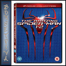THE AMAZING SPIDER MAN 1 & 2 - Andrew Garfield  **BRAND NEW DVD BOXSET**