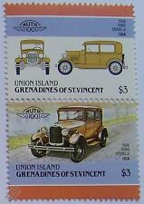 1928 ford model a car timbres (les dirigeants du monde / auto 100)