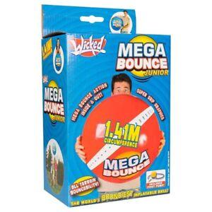 Wicked Mega Saut Junior Gonflable Rebondissant Extérieur Jeu Balle