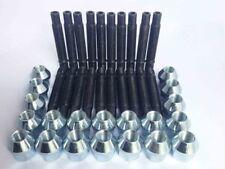 M12 x 1.5 Stud Conversion Kit for Mercedes Inc Nuts + Locks (20 Silver)
