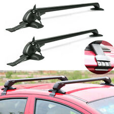 Lockable Anti Theft Car Roof Bars Universal No Rails Rack Bar Luggage Carrier