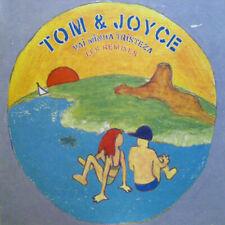"Tom & Joyce - Vai Minha Tristeza (Les Remixes) / VG / 12"""