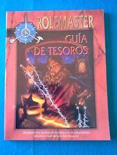 Rol - Rolemaster - Guía de tesoros - La Factoria RL658
