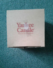 Yankee Candle Shade & Matching Plate NEW IN BOX