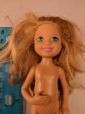 "Barbie Little Sister Chelsea 5.5"" Doll, Bent Elbow, 2010 Head/Torso, Nude"