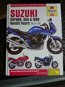 Suzuki GSF600 650 & 1200 Bandit 95-06 Haynes Workshop Manual 3367