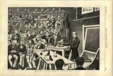 1874 St Bartholomew's conferencia presionando sujeta pies Zapatos