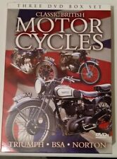 Classic British Motocycles DVD Box Set - Triumph, BSA and Norton - 3 DVDs