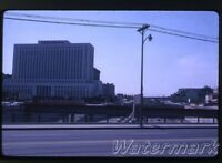1963 kodachrome photo slide  Los Angeles CA #4 downtown building Court House