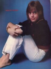SHAUN CASSIDY PINUP CLIPPING CUTTING FROM A MAGAZINE 70'S YOUNG BAREFOOT