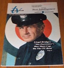 1976 Tv Prevues Guide~Lloyd Bridges Joe Forrester~Jean Marsh~Planet Of The Apes