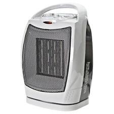 Comfort Zone CZ449E Oscillating Ceramic Heater - 1500W, 70° Oscillation,