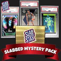 🚨NEW- SLABSTAX Mystery Hot Packs PSA 10 9 RC Zion Lebron James Ja Morant Luka