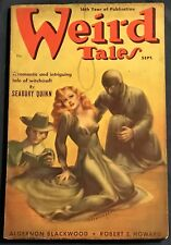 Weird Tales  Sept 1938 Pulp Magazine  Brundage Cover Robert E. Howard, Lovecraft