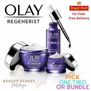 Olay Regenerist Retinol24 Night Face Eye Cream Serum With Retinol & Vitamin B3