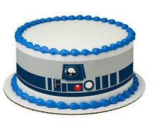 Star Wars R2 D2 cake strips topper frosting sheet icing R2D2 image #7420