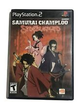 CASE + MANUAL ONLY Samurai Champloo: Sidetracked (Sony PlayStation 2, 2006)