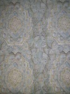 "Pottery Barn Paisley Print Shower Curtain 72""x 72"" & GORGEOUS"