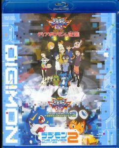DIGIMON THE MOVIES BLU-RAY VOL.2-JAPAN Blu-ray M13