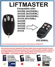 Chamberlain Liftmaster Motorlift 94335E Compatible Remote Control 1A5639-7
