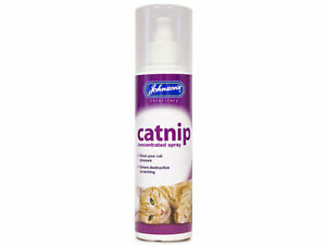 Johnsons Concentrated Catnip Spray Cat Kitten Fresh Cat Nip 150ML