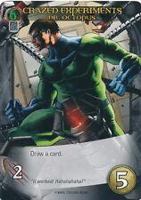 DR OCTOPUS Upper Deck Marvel Legendary CRAZED EXPERIMENTS